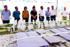 广州市重点项目管理中心领导调研珠江监理深圳国际会展中心项目